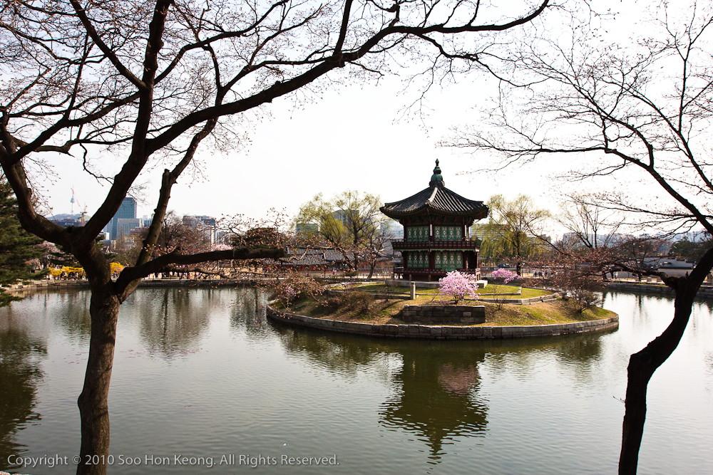 Hyangwonjeong @ Gyeongbokgung palace, Seoul, Korea