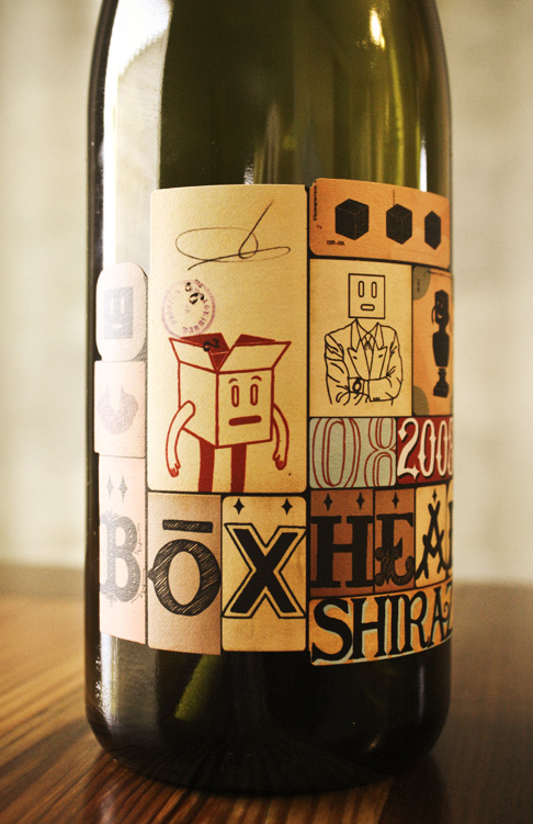 Boxhead Shiraz