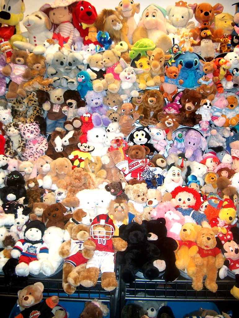 Wall of Plush 1