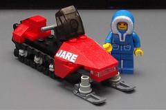 Lego MOC  Snow mobile (1103 S.p.A) Tags: snow lego antarctic