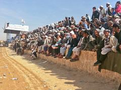 Nowruz Buzkashi Match in Mazar