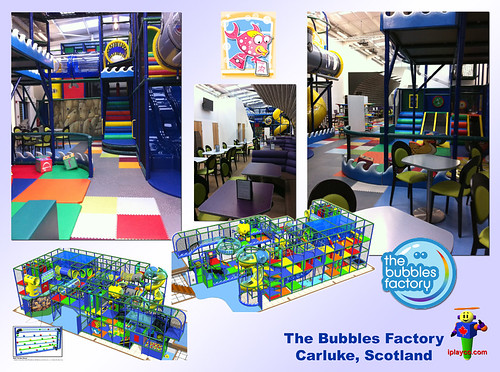 Bubbles Factory Scotland  by Iplayco - Indoor Playground Equipment