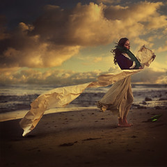 letter to gertrude (brookeshaden) Tags: old beach clouds vintage wind feather letter plume messageinabottle periodpiece brookeshaden texturebylesbrumes strandedpirate