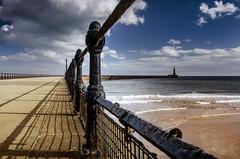 Roker Pier, Sunderland (DM Allan) Tags: lighthouse pier seaside wear springtime sunderland roker wearside wearmouth