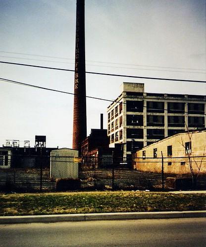 Spaulding Fibre Ruins, Tonawanda, New York