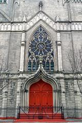 10/365: United Church (geog) Tags: nyc red church harlem 365 10365