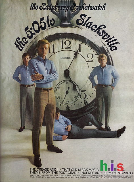 Vintage Ad #703: Take the 5:05 to Slacksville
