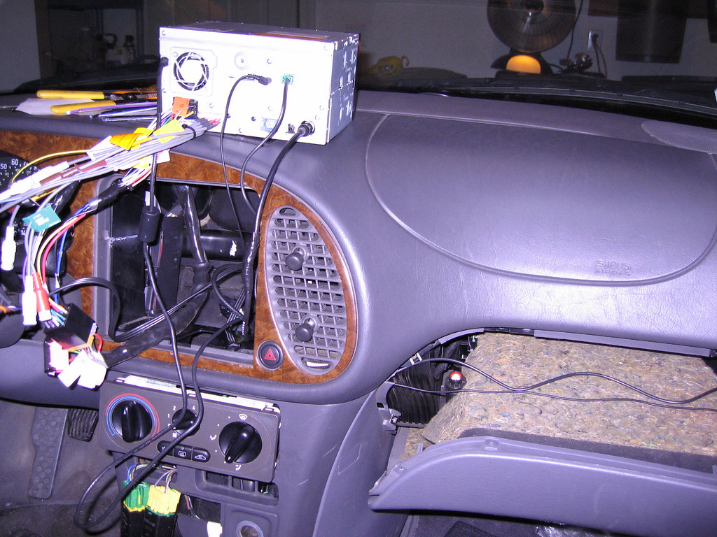 Fully Documented Double Din Install Og 93 Saabcentral Forums Clarion Wiring Diagram Report This Image