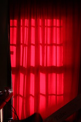 Sova Red Curtain