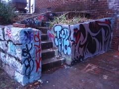 stairwell graffiti