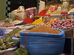 Meknes   (by_irma) Tags: hot herbs hijab morocco souk bazaar kruiden souq marokko meknes spiry voyageursdumonde