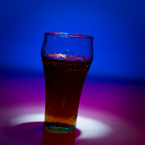 Blue Coke by Robert Hammar Photography
