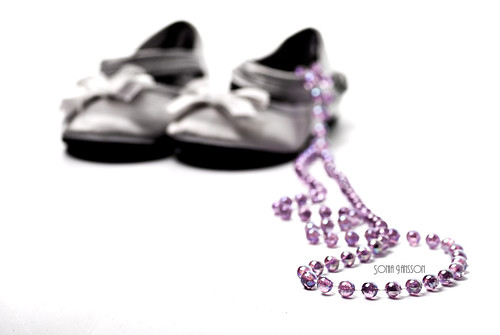 pearls and shoes- a girl's dream