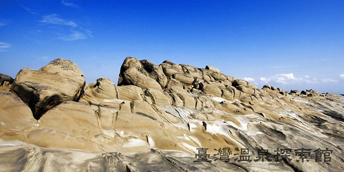 傾斜的岩層