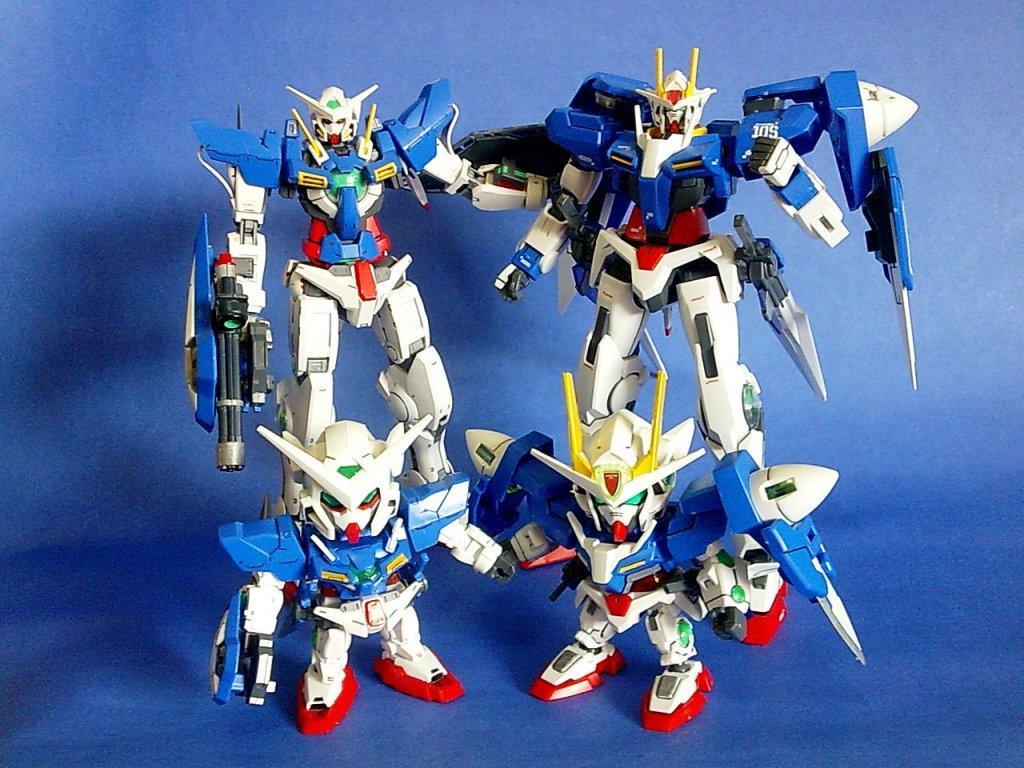 Gundam 00 Family
