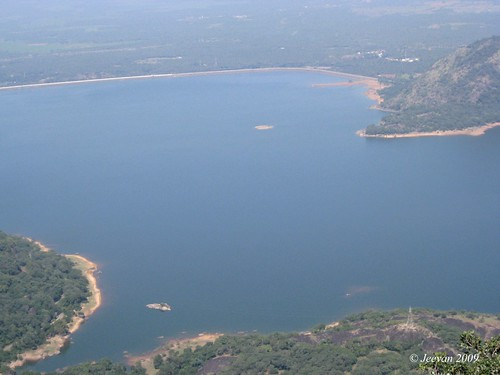 Upper view of Aliyar