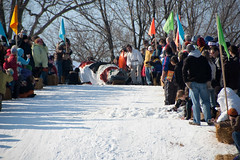 DSC_1466 (artsled) Tags: park art rally minneapolis 8 puppets sledding feb sled sleds powderhorn