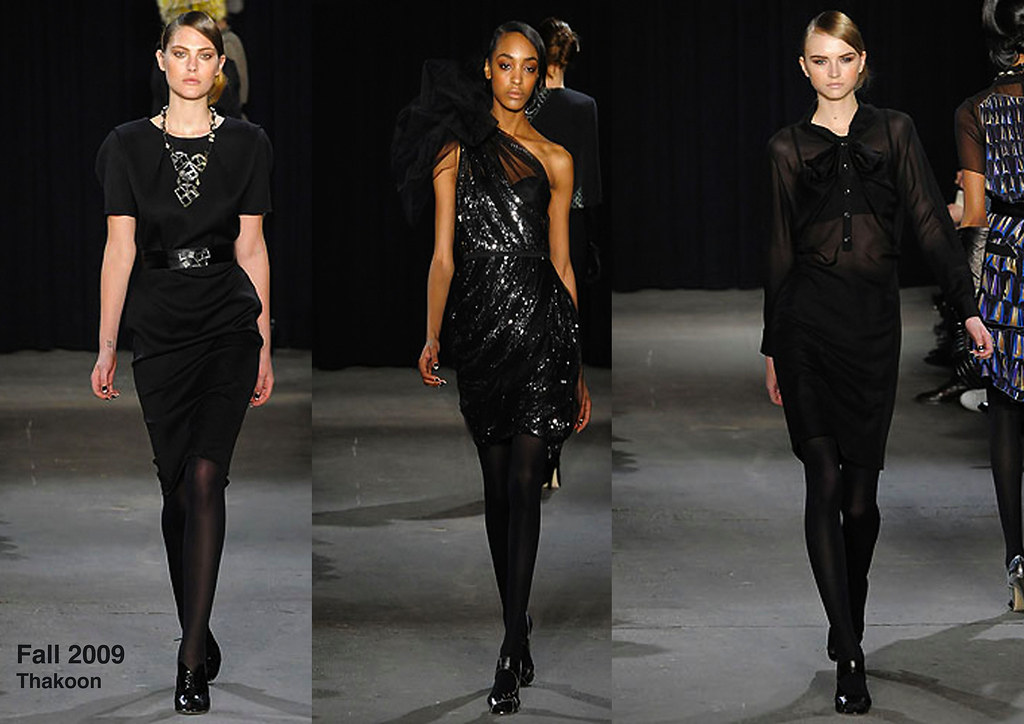 Thakoon-Black dresses
