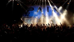 Pain - The show is over. (Ester Memoli) Tags: italy music milan rock metal night fun pain concert italia industrial sweden bass guitar live milano gig band swedish panasonic concerto peter musica alcatraz freetime scandinavian tgtgren tagtgren dmctz5 painbrotherfiretribealcatrazmilano