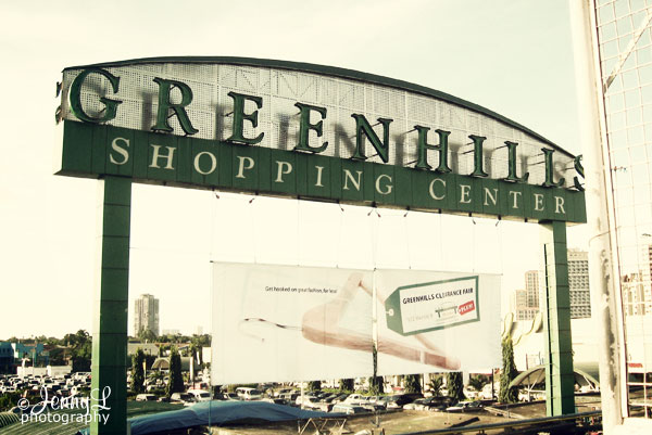 PROJ. 365: Greenhills Shopping Center