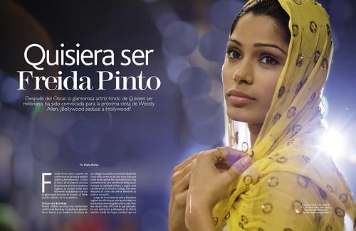 Freida Pinto Slumdog Millionaire