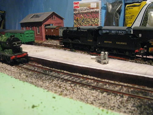 Island Platform and Goods Shed