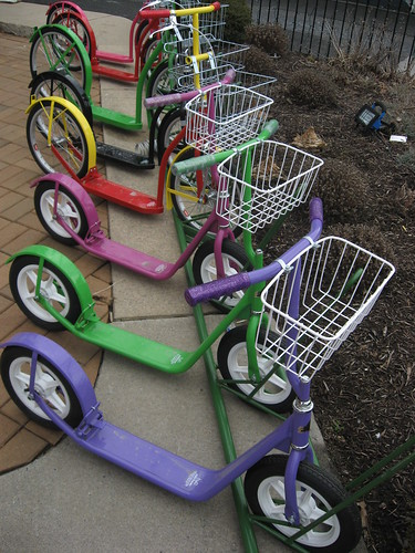 Candy-Coloured Scooters by you.