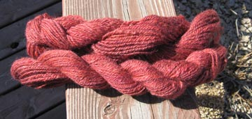 wool mohair both skeins