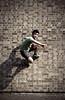 _o-_ (stereomind) Tags: london geometric jumping spiderman rafael pulando homenaranha