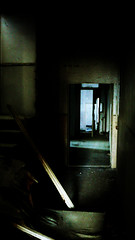 (Daniele Peruzzi) Tags: leica light abandoned scale photoshop lumix shadows shot decay dirty ombre panasonic horror luci clinic destroyed decayed corrupt distrutto cs3 corridoio abbandonato clica roob dmctz1