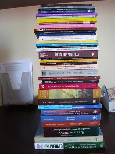 Livros para estudos em Biblioteconomia