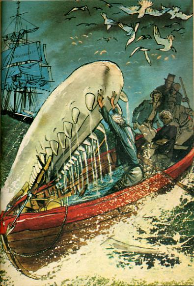 Moby Dick by, Herman MELVILLE -image