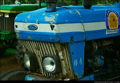 Blue Ford (Daniel Pascoal) Tags: old blue tractor azul rusty sjc saojosedoscampos trator antigo parquedacidade danielpg danielpascoal
