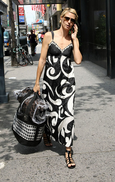 Heidi Klum On Her Way to the Fashion Institute of Technology (NO by peixj