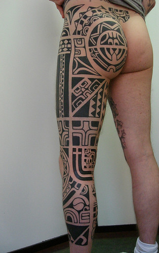 tattoo polinesian. Polynesian tattoo designs have