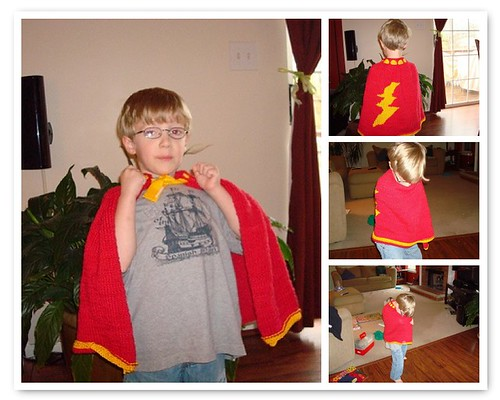 Sam the Superhero!
