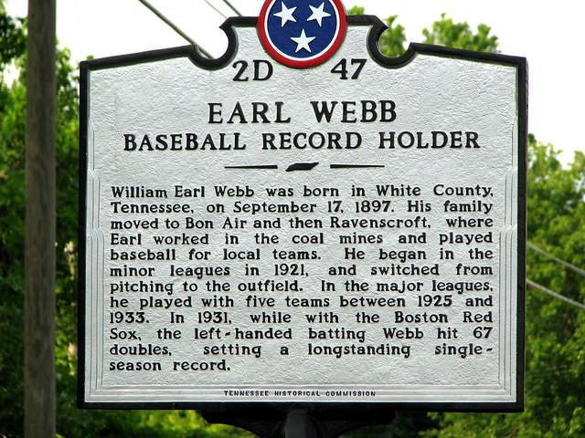 Earl Webb marker