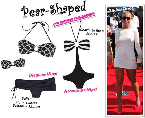 Swimwear:: The Perfect Styles for 9 Different Shapes!