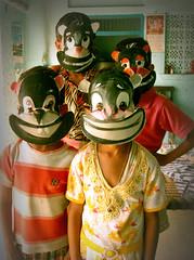 yesterday once more:::kunwar gaon( badaun):::2009 (Piyush Chauhan:)) Tags: childhood friendship mask