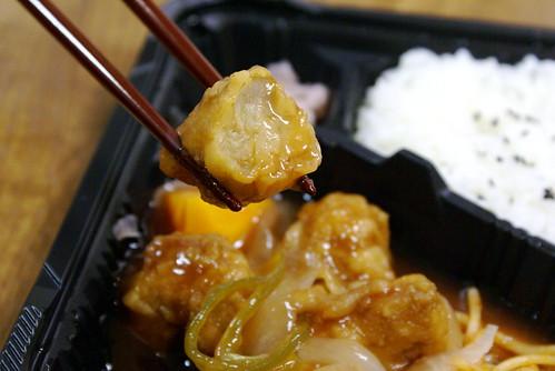 セーブオンの酢鶏弁当