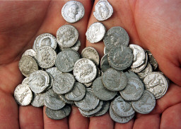 Libyan Roman Coin Find