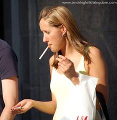 Consider, female smoker fetish can