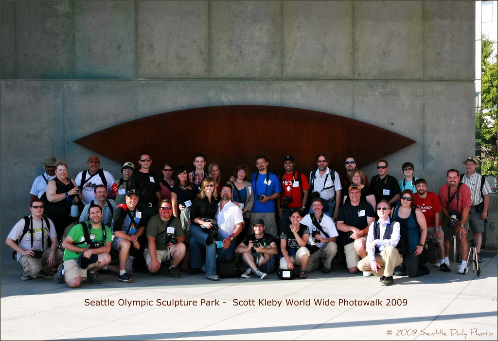 July 18, 2009 World Wide Photo Walk, Seattle Olympic Sculpture Park