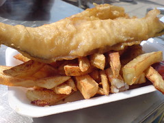 Fish and Chips (Man of Yorkshire) Tags: food fish out seaside away chips eat potato snack take