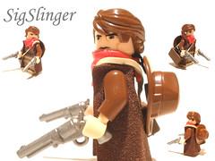 SigSlinger Andy (Mandingalo) Tags: lego guns gunslinger sigfig brickarms