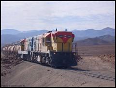 Ácido para el cobre (Pablo Alberto) Tags: train tren railway locomotive locomotora antofagasta acido emd fcab gr12