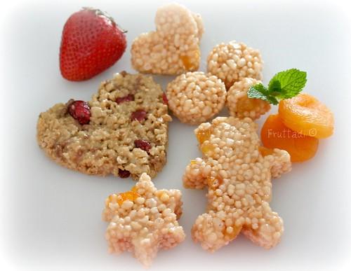 Snacks: barritas de cereal