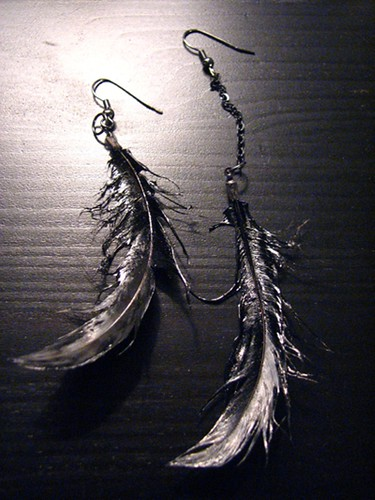 Youth vs. Future feather jewelry 13