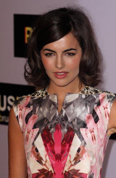 Camilla Belle Medium Length Hairstyle. celebrity haircuts, fashion and style