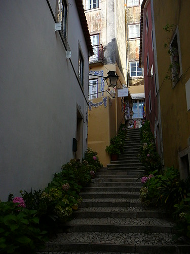 Escandinhas en Sintra.